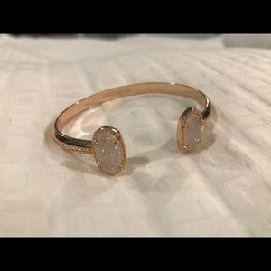 Kendra Scott Elton Rose Gold Cuff Bracelet